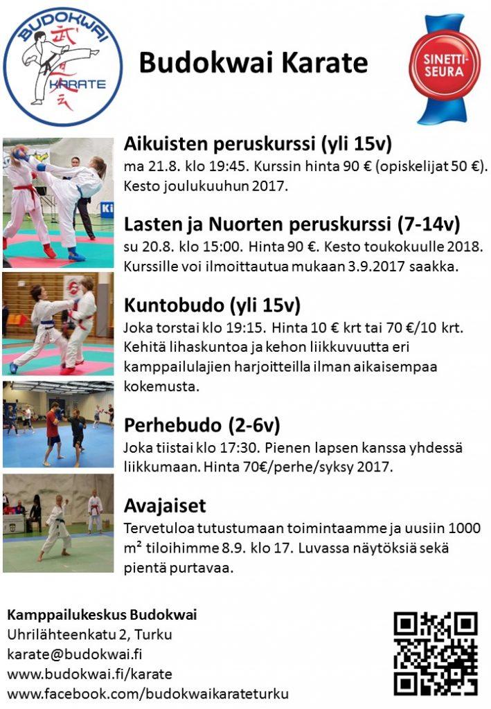 Karate syksy 2017